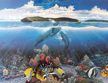 Molikini First Breath 1985 Limited Edition Print by Robert Lyn Nelson