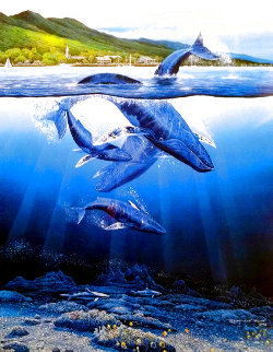 Extinction is Forever w/ Remarque 1983 Limited Edition Print - Robert Lyn Nelson