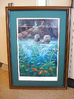 Nature's Union At Monterey w/ Remarque AP 1988 Limited Edition Print by Robert Lyn Nelson - 1