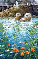 Nature's Union At Monterey w/ Remarque AP 1988 Limited Edition Print by Robert Lyn Nelson - 3