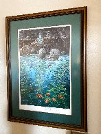 Nature's Union At Monterey w/ Remarque AP 1988 Limited Edition Print by Robert Lyn Nelson - 2