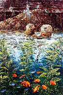 Nature's Union At Monterey w/ Remarque AP 1988 Limited Edition Print by Robert Lyn Nelson - 0