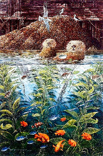 Nature's Union At Monterey w/ Remarque AP 1988 Limited Edition Print - Robert Lyn Nelson