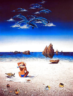 Summer Illusions 1988 Limited Edition Print - Robert Lyn Nelson