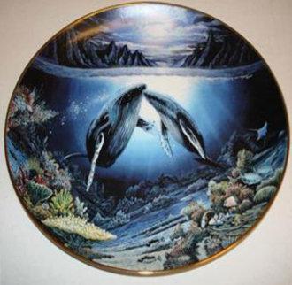 Moonlit Moment 1983 48x43 Super Huge Original Painting - Robert Lyn Nelson