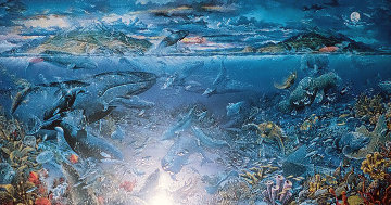From Sea To Shining Sea 1998 Limited Edition Print by Robert Lyn Nelson