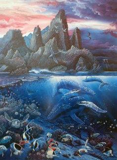 Agile Sea Phantom 1980 Limited Edition Print by Robert Lyn Nelson