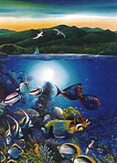 Colors of Hamoa PP 1995 Limited Edition Print by Robert Lyn Nelson