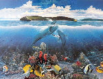 Molokini First Breath 1987 Limited Edition Print - Robert Lyn Nelson