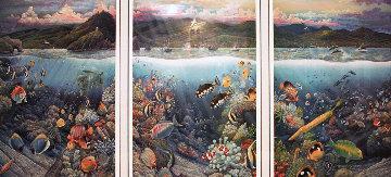 Undersea Symphony of Hana 1996 Limited Edition Print by Robert Lyn Nelson