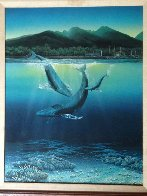 Two Worlds 1980 Limited Edition Print by Robert Lyn Nelson - 1