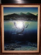 Two Worlds 1980 Limited Edition Print by Robert Lyn Nelson - 2