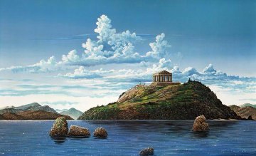 Athenian Odyssey, Set of 2 1985 Limited Edition Print by Robert Lyn Nelson