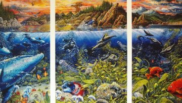 Underwater World Limited Edition Print by Robert Lyn Nelson