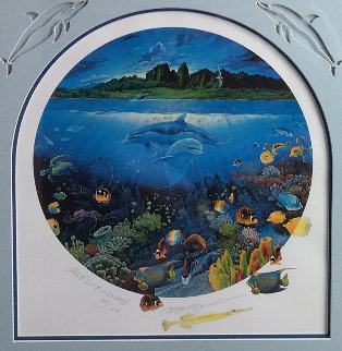 Discovery Off Anahola AP 1993 Limited Edition Print by Robert Lyn Nelson