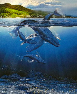 Extinction is Forever 1990 with Remarque Limited Edition Print - Robert Lyn Nelson