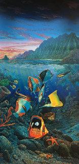 Undersea Waltz 1991 Limited Edition Print by Robert Lyn Nelson