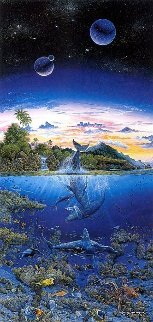 Utopian Dream Embellished Limited Edition Print by Robert Lyn Nelson