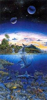 Utopian Dream Embellished Limited Edition Print - Robert Lyn Nelson