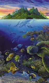An Underwater Congress 1992 Limited Edition Print by Robert Lyn Nelson