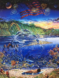 Ring of Life 1992 Limited Edition Print - Robert Lyn Nelson