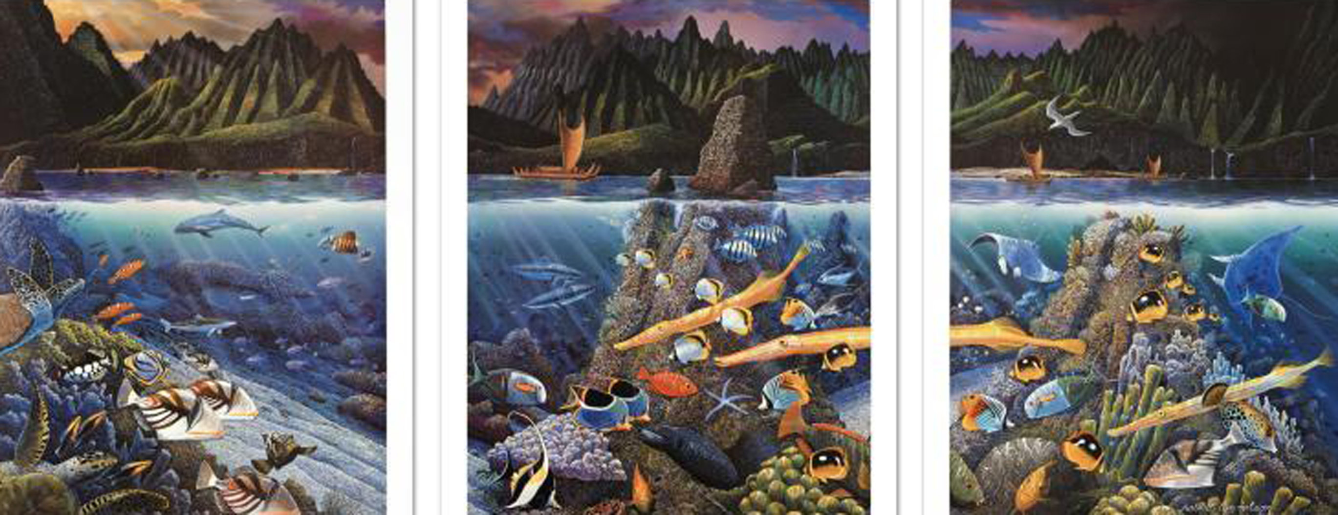 Chant to Nature 1998 Limited Edition Print by Robert Lyn Nelson