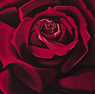 Rose 1978 Limited Edition Print by Lowell Blair Nesbitt