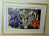Tiger Lily 1981 Limited Edition Print by Lowell Blair Nesbitt - 1