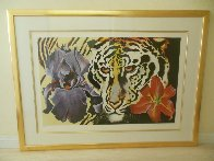 Tiger Lily 1981 Limited Edition Print by Lowell Blair Nesbitt - 2