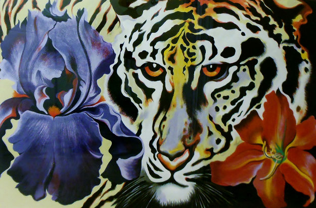 Tiger Lily 1981 Limited Edition Print by Lowell Blair Nesbitt