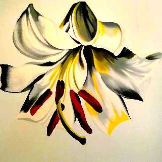 Untitled Floral Limited Edition Print by Lowell Blair Nesbitt