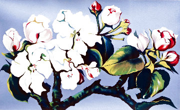 Apple Blossoms 1980 Limited Edition Print - Lowell Blair Nesbitt