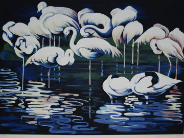 Flamingo  Limited Edition Print - Lowell Blair Nesbitt