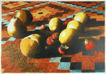 Fruit Limited Edition Print by Lowell Blair Nesbitt