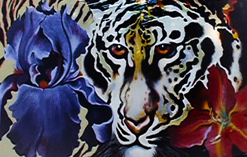 Tigerlilly 1981 Limited Edition Print - Lowell Blair Nesbitt