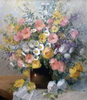 Floral  Original Painting - Gerhard Nesvadba