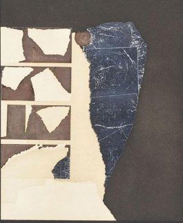 Presence Graphic 1970 Limited Edition Print - Louise Nevelson