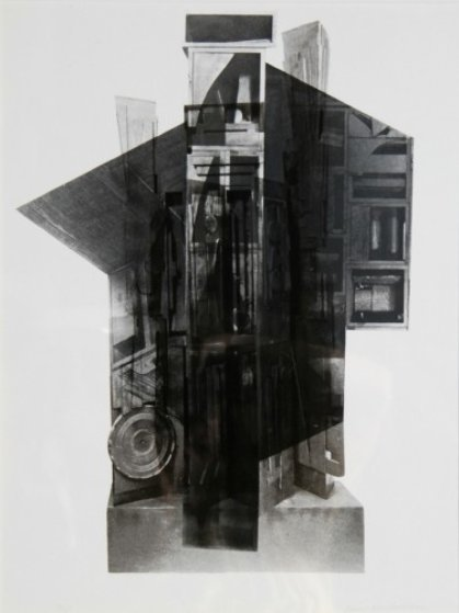 Facades 2 Limited Edition Print by Louise Nevelson