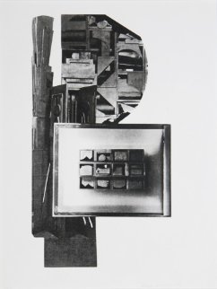 Facades 1 Limited Edition Print - Louise Nevelson