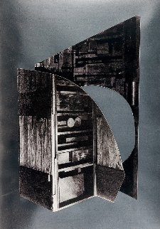 Facade Series: The Wind's Bastinado  1966 Limited Edition Print - Louise Nevelson