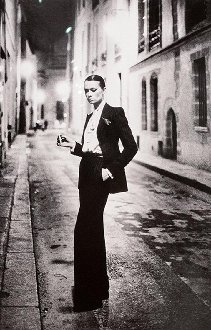 Rue Aubriot, Paris 38x30 Photography by Helmut Newton