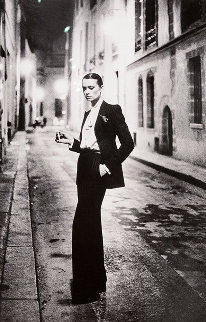Rue Aubriot, Paris 38x30 Photography - Helmut Newton