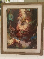 Untitled Painting 21x18 Original Painting by Leonardo Nierman - 1
