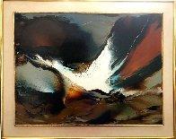 Birth of Light 30x38 Original Painting by Leonardo Nierman - 1