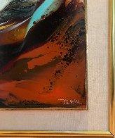 Imaginary Landscape 30x38 Original Painting by Leonardo Nierman - 2