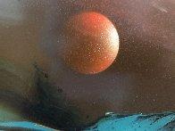 Imaginary Landscape 30x38 Original Painting by Leonardo Nierman - 4