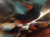 Imaginary Landscape 30x38 Original Painting by Leonardo Nierman - 5