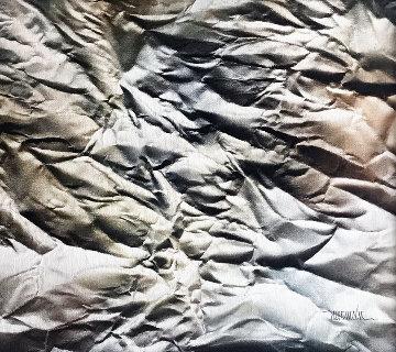 Los Velos Del Tempo 1991 20x23 Original Painting - Leonardo Nierman