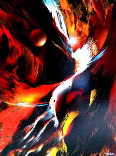 Profecia 1979 38x30 Original Painting by Leonardo Nierman
