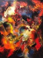 Sound of Color - Stravinsky 1976 Limited Edition Print by Leonardo Nierman - 0